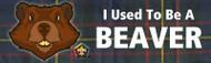 Wood Badge Beaver Tartan Bumper Sticker (SP5056)