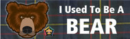 Wood Badge Bear Tartan Bumper Sticker (SP5057)
