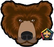 Wood Badge Bear Car Window Sticker (SP5391)
