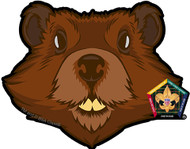 Wood Badge Beaver Car Window Sticker (SP5392)