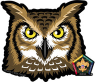 Wood Badge Owl Car Window Sticker (SP5397)
