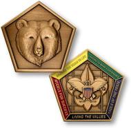 Wood Badge® Bear Medallion