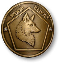Wood Badge® Fox Hiking Stick Medallion- DISCONTINUED