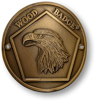 Wood Badge® Eagle Hiking Stick Medallion