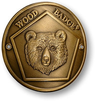 Wood Badge® Bear Hiking Stick Medallion