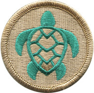 Official Licensed Loggerhead Turtle Patrol Patch
