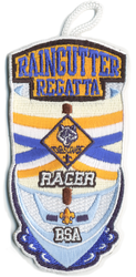 Raingutter Regatta Racer Patch