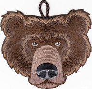 Bear Head Critter Patch