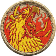 Official Licensed Phoenix Head Patrol Patch