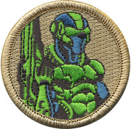 Official Licensed Future Warrior Patrol Patch