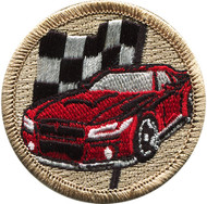 Official Licensed Race Car Patrol Patch