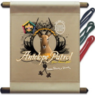 Custom Wood Badge Antelope Patrol Mini Flag (SP3258)