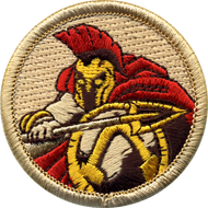 Official Licensed Spartan Patrol Patch