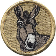 Official Licensed Donkey Patrol Patch