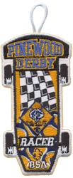 Cub Scout Racer Patch