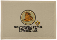 Custom Frontiersman Patrol Patch Flag (SP3210)