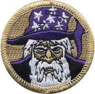 Official Licensed Wizard Patrol Patch