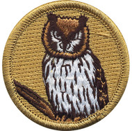 Official Licensed Premium Owl Patrol Patch