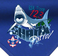 Custom Shark Patrol Neckerchief (SP2776)