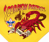 Custom Scorpion Patrol Neckerchief (SP2797)