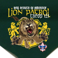 Custom Lion Patrol Neckerchief (SP2719)