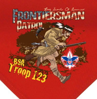 Custom Frontiersman Patrol Neckerchief (SP2807)