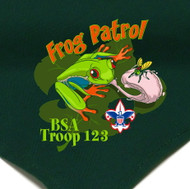Custom Frog Patrol Neckerchief (SP2779)