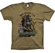 Custom Knight On Horse Patrol T-Shirt (SP2720)