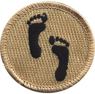 Foot Print Patrol Patch