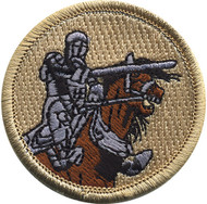 Official Licensed Knight on Horse Patrol Patch