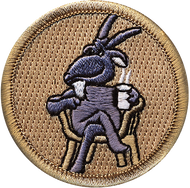Official Licensed Old Goat Patrol Patch