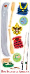 Boy Scouts Water 12 Sticker Sheet