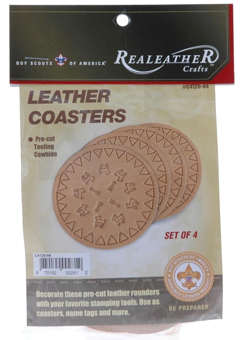 Leather Coasters Kit