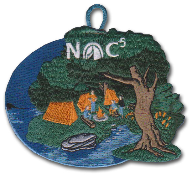 Nights of Camping NOC - 5 Night Patch