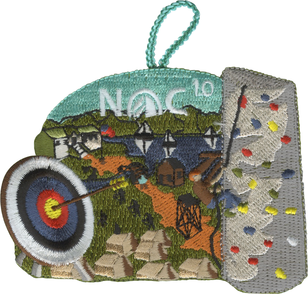 Nights of Camping NOC - 10 Night Patch