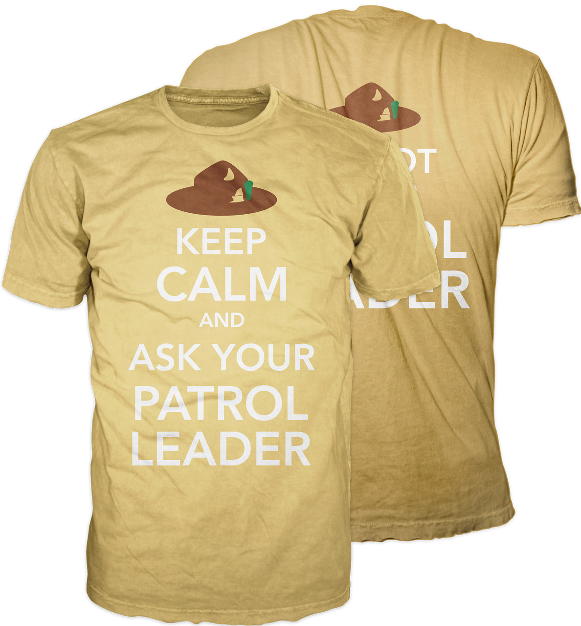 Keep Calm and Ask Your Patrol Leader BSA Graphic Tee