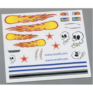 Pinewood Derby Dry Transfer Decal C