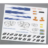 Pinewood Derby Dry Transfer Decal D