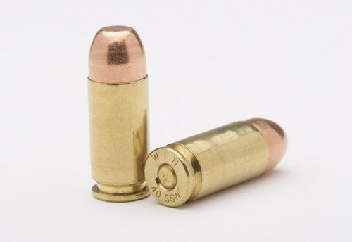 40 S&W 180gr FMJ - Long -New Ammunition