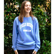 Field Hockey Crew Neck Sweatshirt Periwinkle