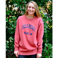 Field Hockey Crew Neck Sweatshirt Red