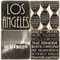 B&W Los Angeles, California Coaster Set. Handcrafted Marble Giftware by Studio Vertu.