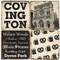 Covington Kentucky Coaster Set.  Handmade Marble Giftware by Studio Vertu.