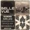 Black & White Bellevue, Washington Coaster Set