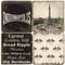 Black & White Indianapolis Coaster Set. Handmade Marble Giftware by Studio Vertu.