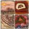Banded Agates Coaster Set