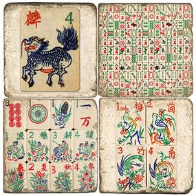 Chinese Game Coaster Set