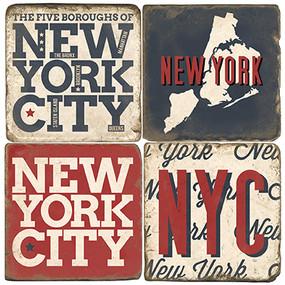 New York City Coaster Set