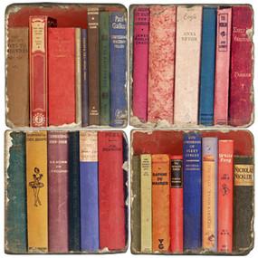 Book Binding Coaster Set