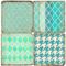 Patterns of Aqua Coaster Set